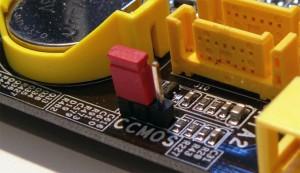 Сбросить настройки BIOS перемычкой cmos