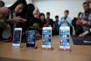 Стоимость акций Apple после презентации iPhone SE снизилась