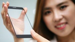 Сканер отпечатков пальцев LG установила под экран смартфона