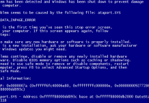 Синий экран смерти и ошибка 0x0000007A решение