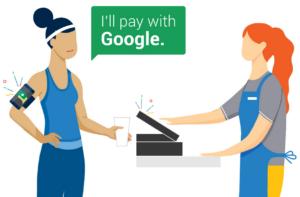 Систему бесконтактных платежей Hands Free начала тестировать Google