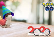 Были показаны первые live события Pokémon GO 2020 года