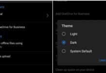Microsoft OneDrive для Android получает поддержку Dark Theme