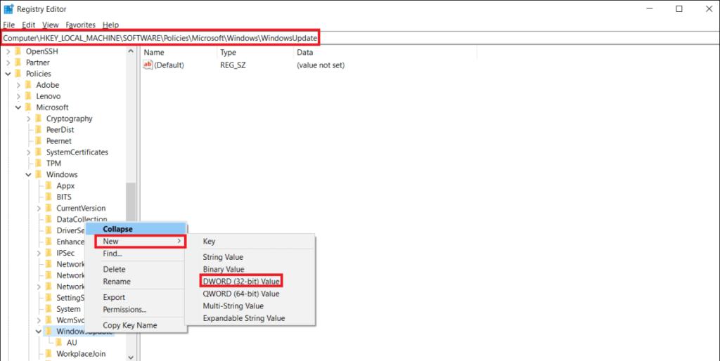 Как заблокировать обновления функций Windows 10 от скачивания