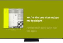 Смарт-телевизоры Samsung теперь поддерживают тексты песен Apple Music с синхронизацией по времени