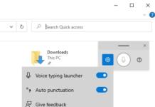 С помощью Voice Launcher Microsoft становится все более агрессивной в отношении голосового набора текста в Windows 10
