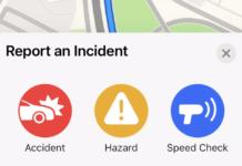 Apple Maps скоро позволит вам сообщать о происшествиях, как в Waze